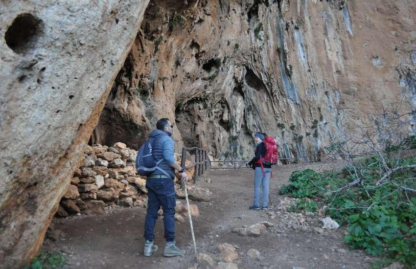 Le grotte della riserva dello zingaro