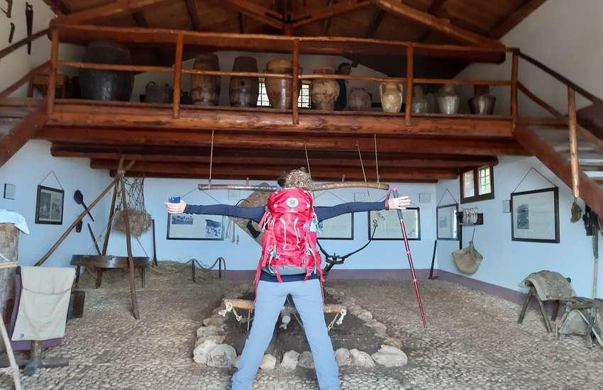 Il museo nella riserva dello zingaro