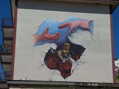 Sicilia Prizzi Murales