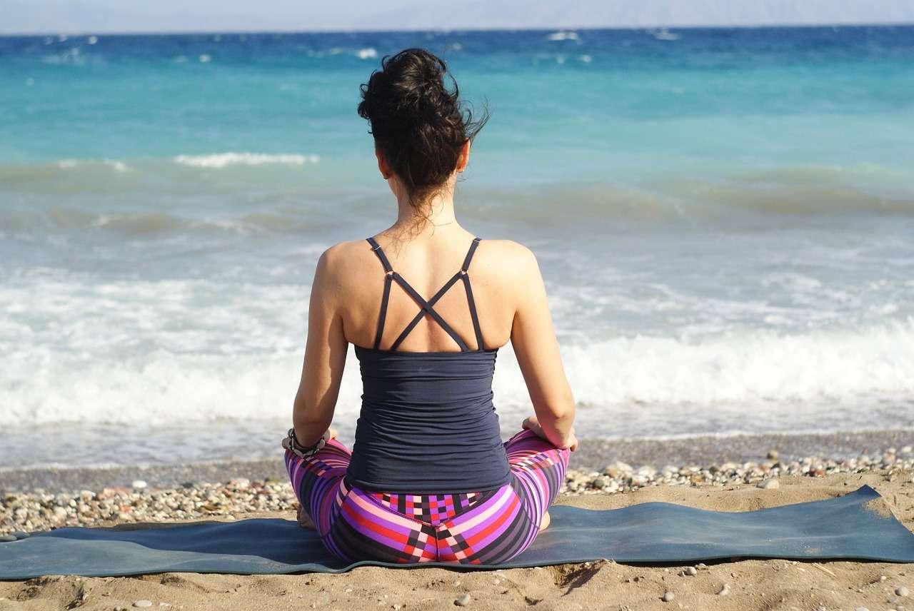 Yoga all'aperto a Marsala