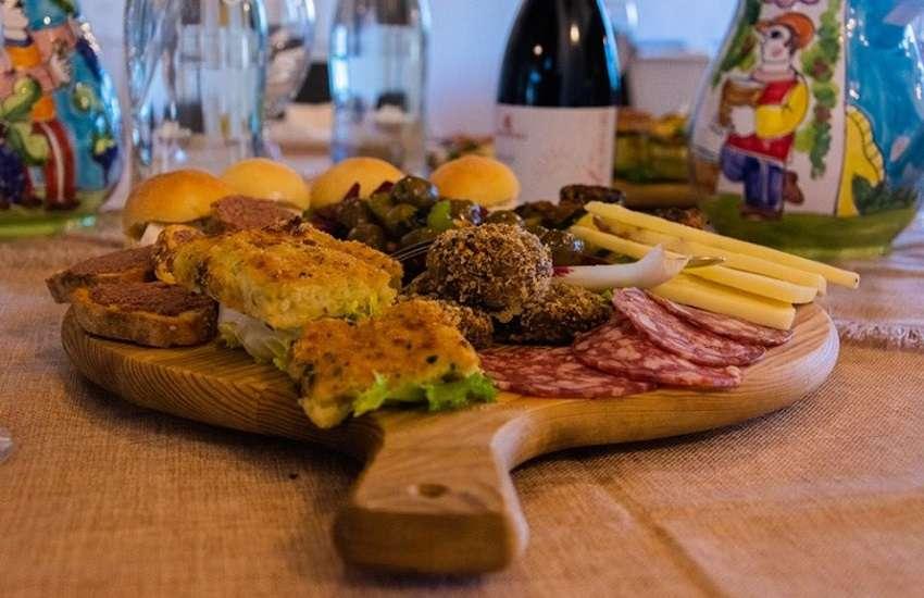 Sicilia Alcamo food & wine