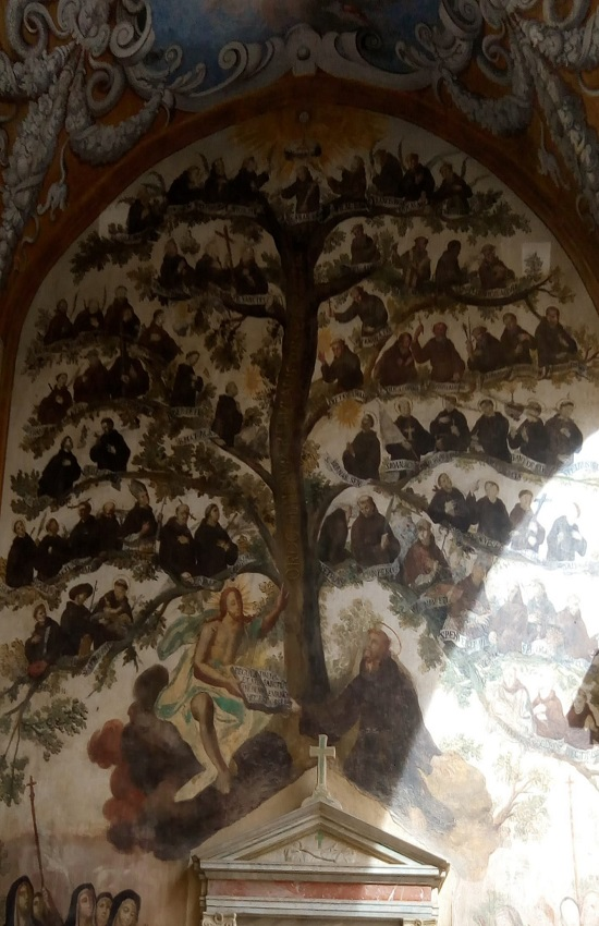 Sicilia Palermo chiostro S. Maria della Gancia Via Alloro