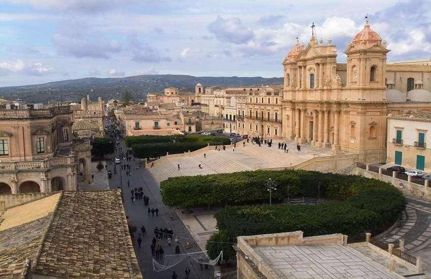 Sicilia escursione giornaliera Siracusa e Noto