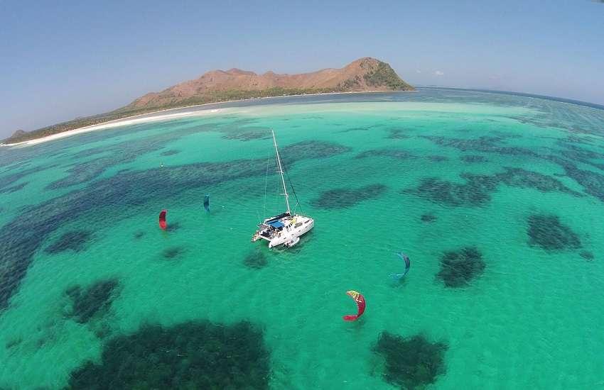 kitesurf e catamarano marsala sicilia