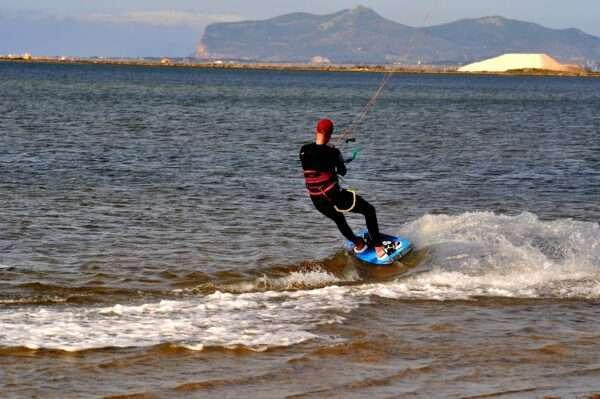 kitesurf a Marsala